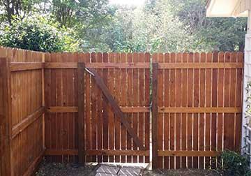 Custom Cedar Privacy Fences