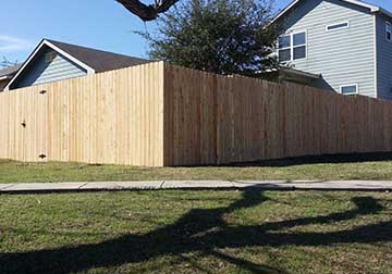 Front yards fencing