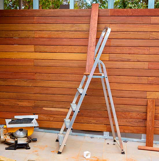 Repair wood fences