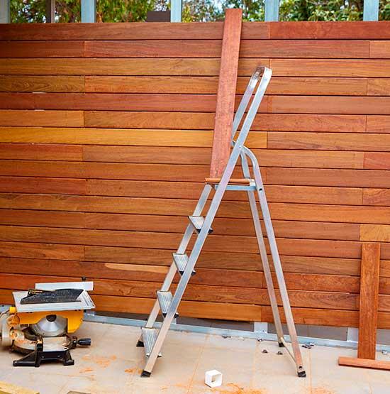 Repair wood fences