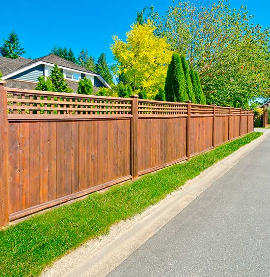 Wood fence repair